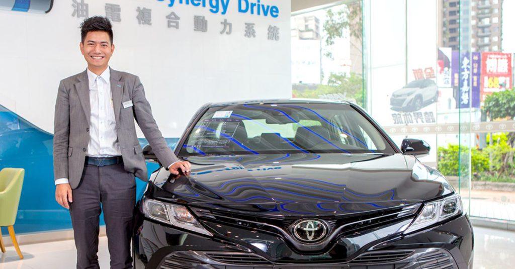 【台中推薦】Toyota閻渠文豐田汽車銷售業務 台中市 Toyota 業務推薦,西區汽車購買推薦